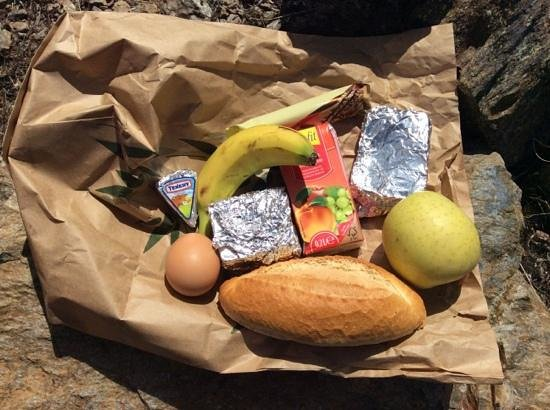 Hotel los Berchules: Packed lunch for one