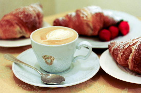 Antica Dimora alla Rocca: Cappuccino