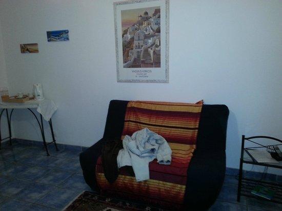 Domaine des Chais de Thenac: canapé lit