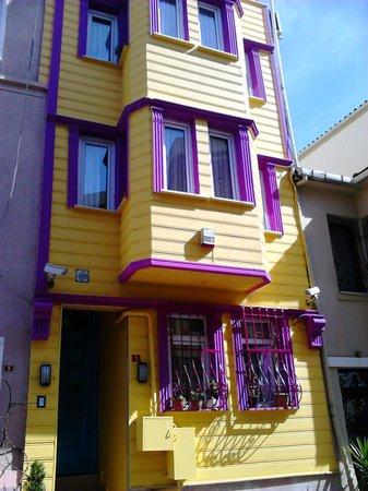 Pink Apart House: pembe apart hotel