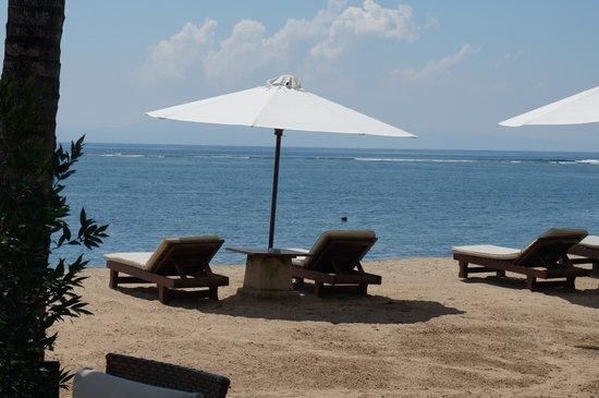 Griya Santrian: Strand von Griya