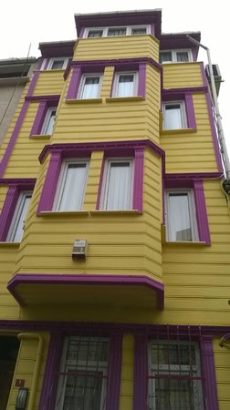 Pink Apart House: hotel wiew