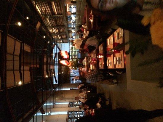RN74: Interior of restaurant