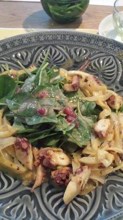 Alois Daniel Bakery: Oktopus-Salat