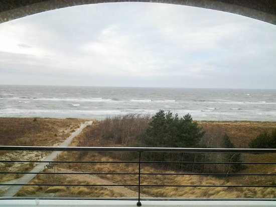 Strandhotel Dünenmeer: Herrlicher Meerblick