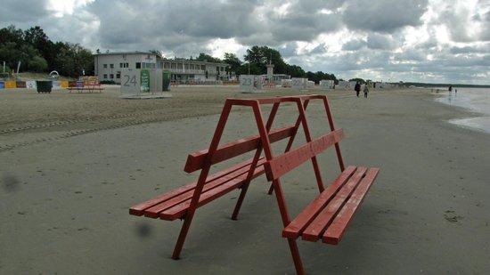 Parnu Beach Promenade: Parnu Beach and Promenade
