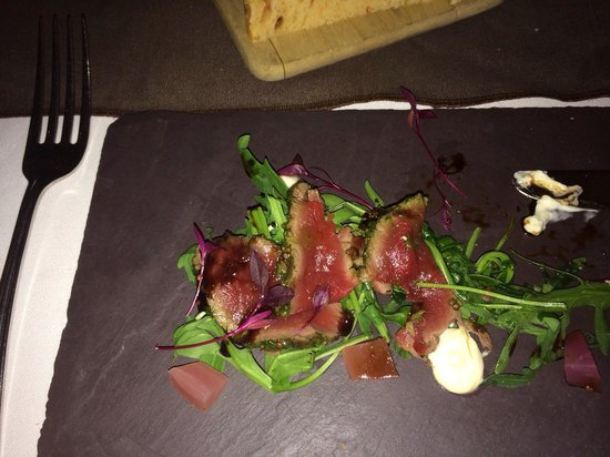 The Great House Hotel : Venison starter