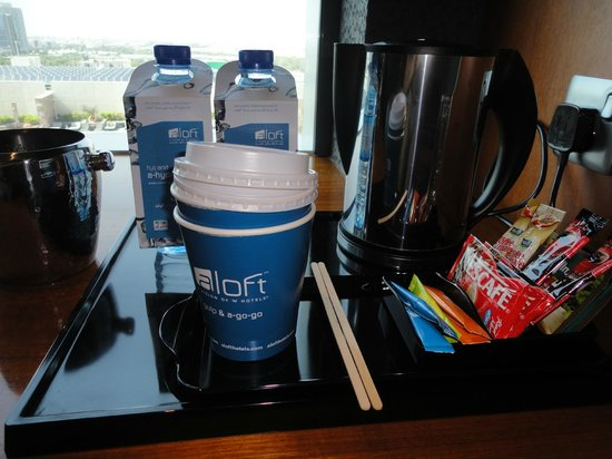 Aloft Abu Dhabi: services