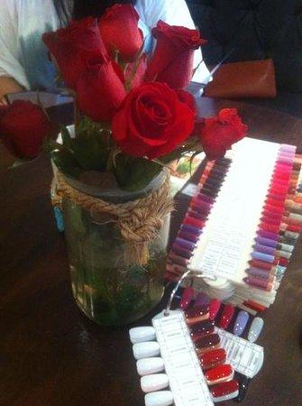 Amo Spa: colour choices for OPI polish!!!
