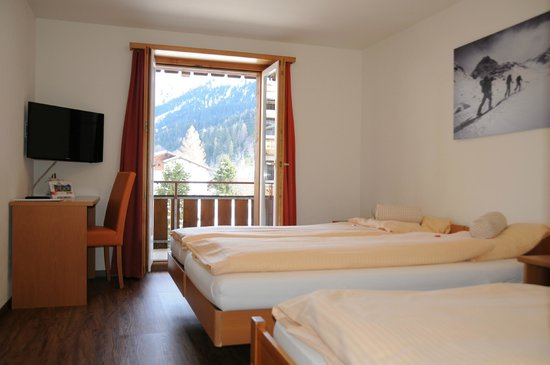 Sport-Lodge Klosters: Doppelzimmer