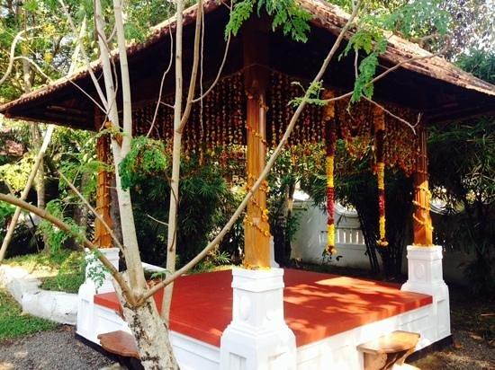 Tharavad Heritage Resort: garden