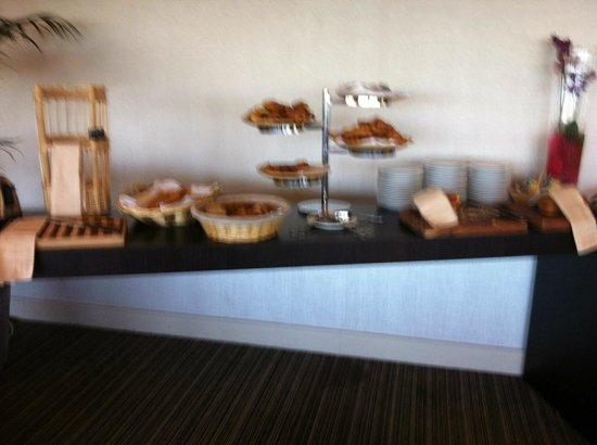Pullman Bordeaux Lac: buffet sucré