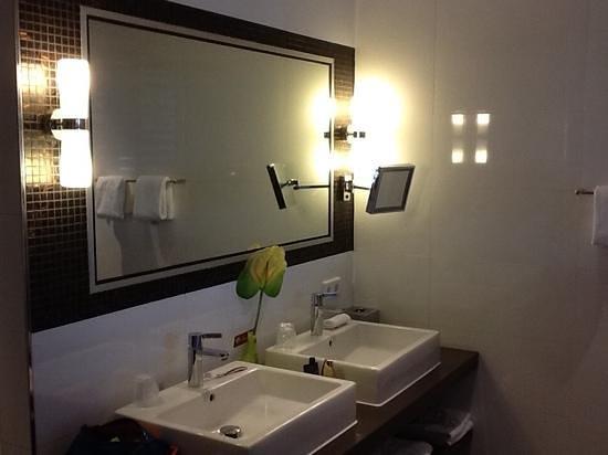 Hotel Thermen Bussloo : badkamer