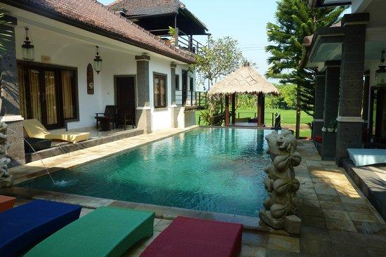 Balam Bali Villa : La piscine....chaude