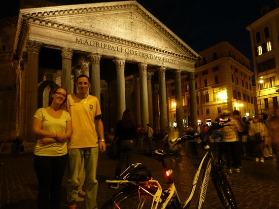The Red Bicycle Touring Organisation: Outside the Pantheon