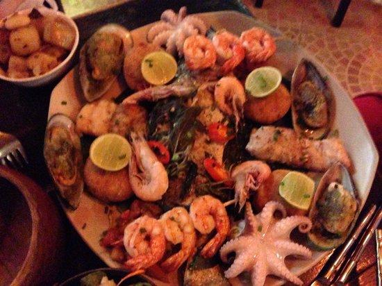 Barracuda Restaurant & Bar: Фирменный сет