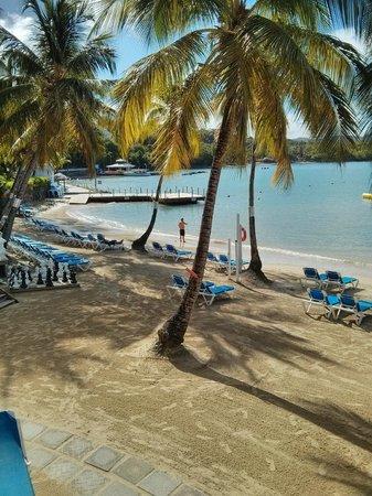 Windjammer Landing Villa Beach Resort : The beach