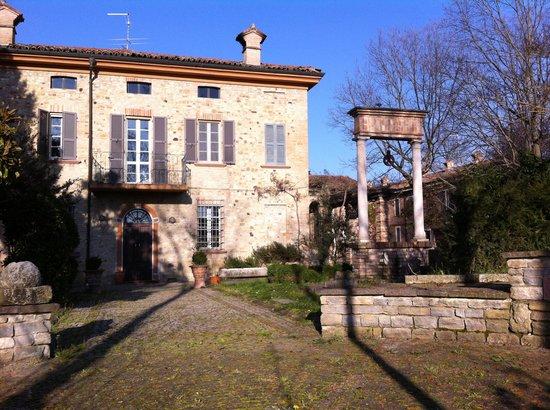 Podere Palazzo Illica: the villa