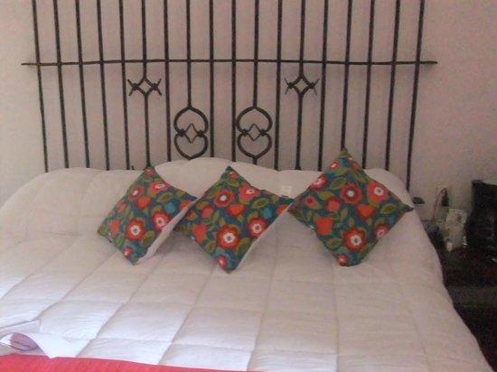 Casa de Siete Balcones: cama principal