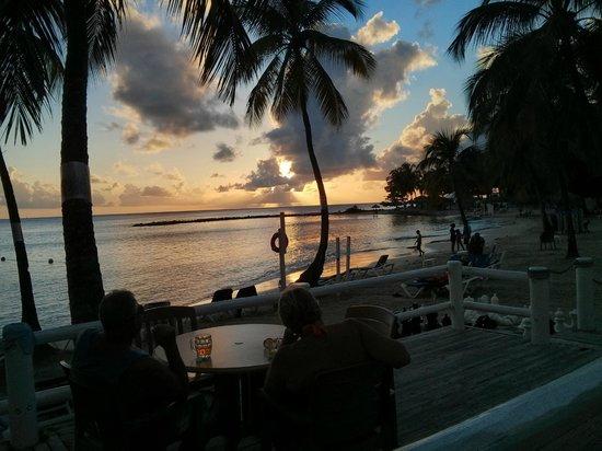 Windjammer Landing Villa Beach Resort: View from the Jammer's restaurnat