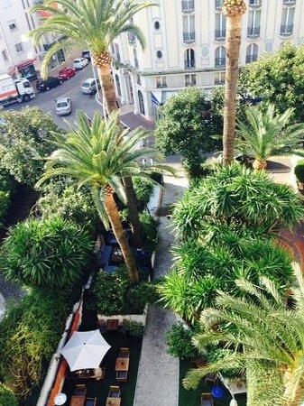 Hotel de Provence: Vue de la chambre