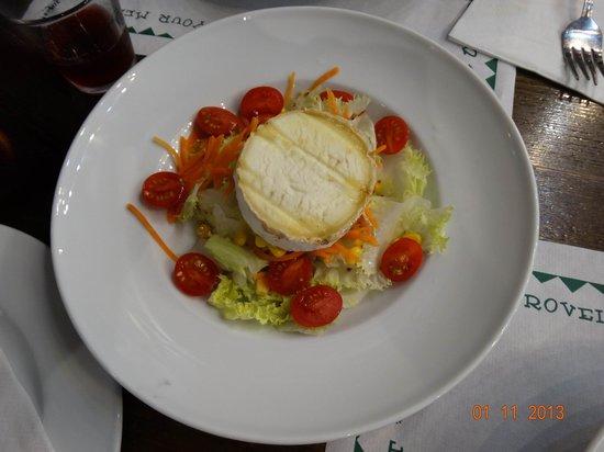 Mikel Etxea 1: Салат с козьим сыром