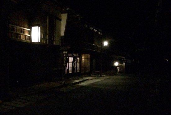 Cafe Minoseya in Tsumagojuku: 夜もやってる!