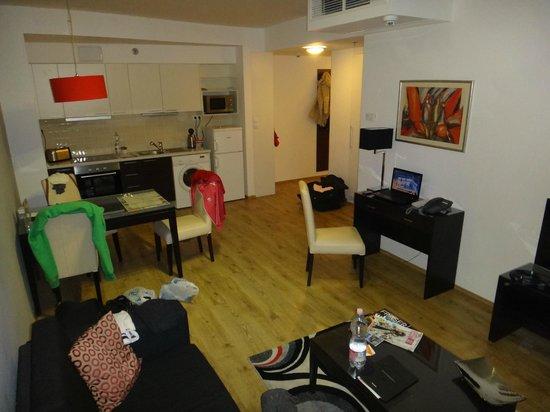 Fraser Residence Budapest : deluxe studio 43 τ.μ.
