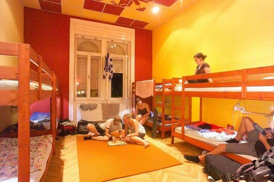 Big Fish Budapest Hostel: 8bed dorm