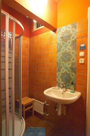 Big Fish Budapest Hostel: Bathroom