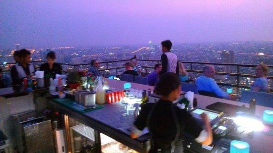 Banyan Tree Bangkok: View from the Moon bar