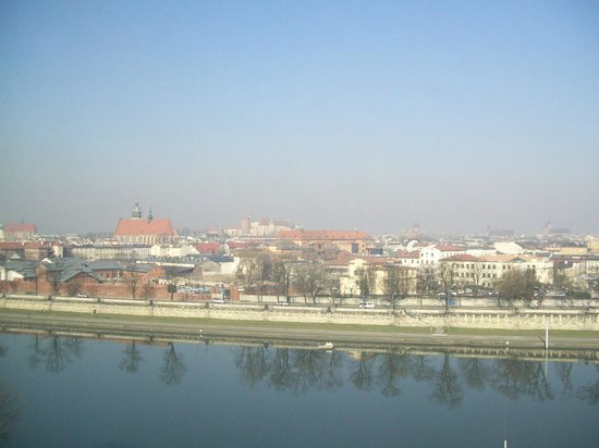 Qubus Hotel Krakow: View from room