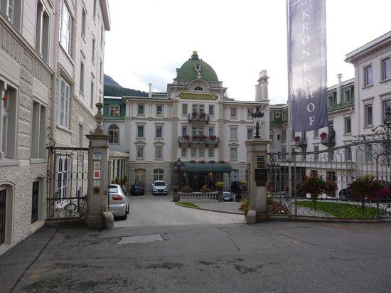 Grand Hotel Kronenhof: Grad Hotel Kronenhof