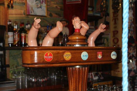 Le Java : service bière pression