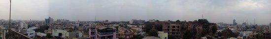 Hotel Kalyan: panoramic view from terrace