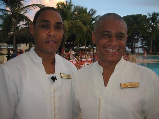 Dreams La Romana Resort & Spa: Carlos et René