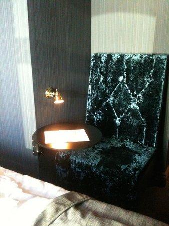 Stora Hotellet Umeå : Bra sittplats/arbetsplats