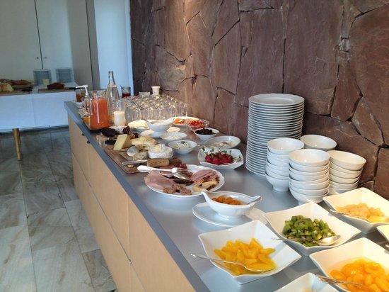 Hotel a la Ferme : Gutes Frühstücksbuffet