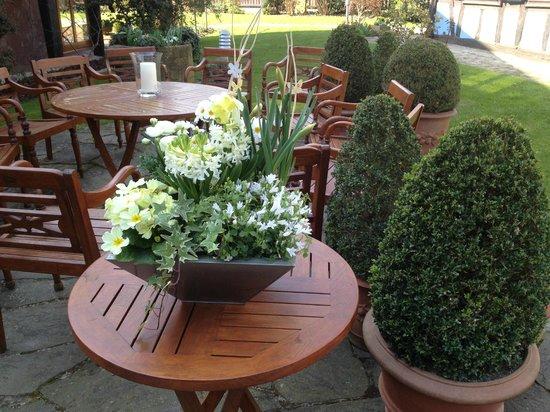 Hotel a la Ferme: Teil des Gartens