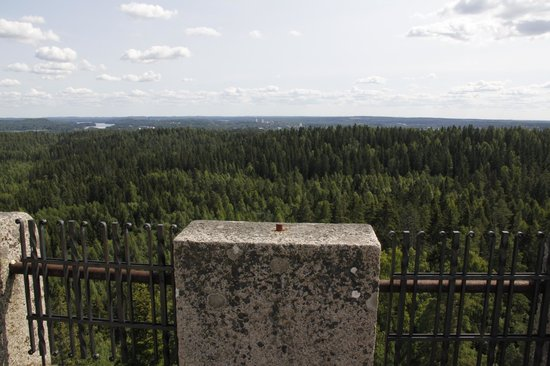 View from Aulanko tower