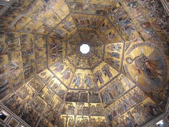 Baptistery of San Giovanni (Battistero) : cupola