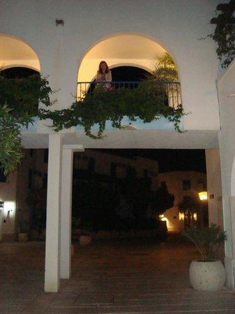 Hotel Slovenska Plaza : В свете фонарей