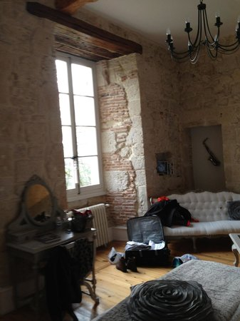 Chateau de Cambes: Chambre Jazz