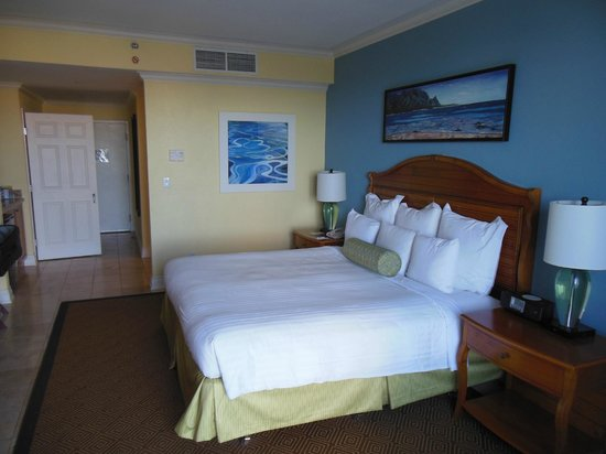 St. Kitts Marriott Resort & The Royal Beach Casino: Spacious rooms