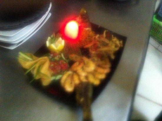 Chouchou: Des crevettes à l ail