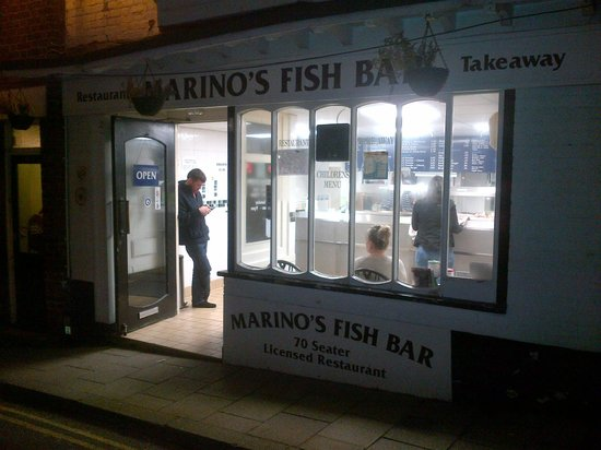 Marino's Fish Restaurant and Takeaway: Outside the Restaurant