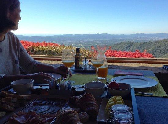 Hotel Can Cuch : Momento desayuno