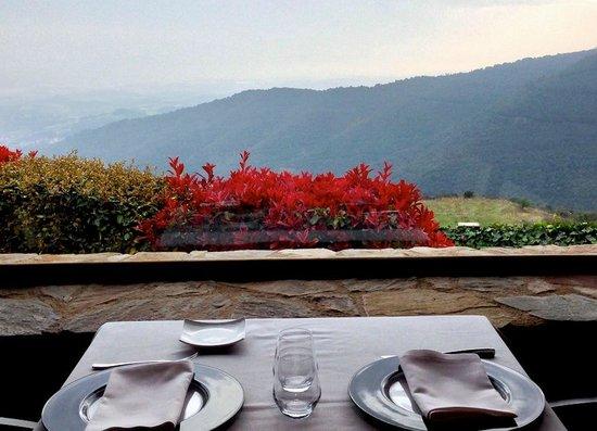 Hotel Can Cuch : Vistas desde el restaurante