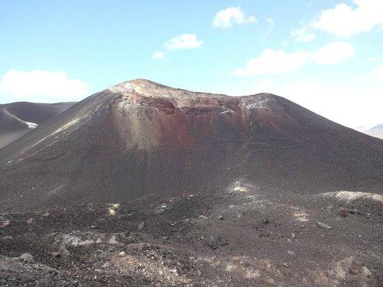 Cerro Negro Volcano: un des cratères principaux