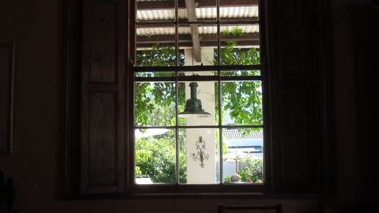 Fairview Historic Homestead : View from the breakfast room